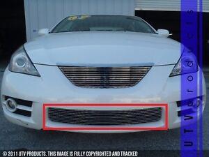 Image Is Loading Gtg 2007 2008 Toyota Solara 1pc Polished Overlay