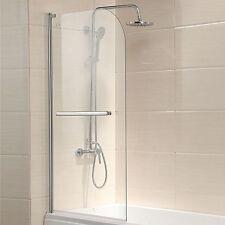 "Pivot Radius Framed 55""X31"" Bath Tub Shower Door 1/4"" Clear Glass Chrome Finish"