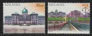 271-MALAYSIA-2001-FORMATION-OF-PUTRAJAYA-FEDERAL-TERRITORY-SET-FRESH-MNH