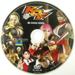 King of Fighters Maximum Impact Sony Playstation 2 PS2 DVD Bonus Seulement