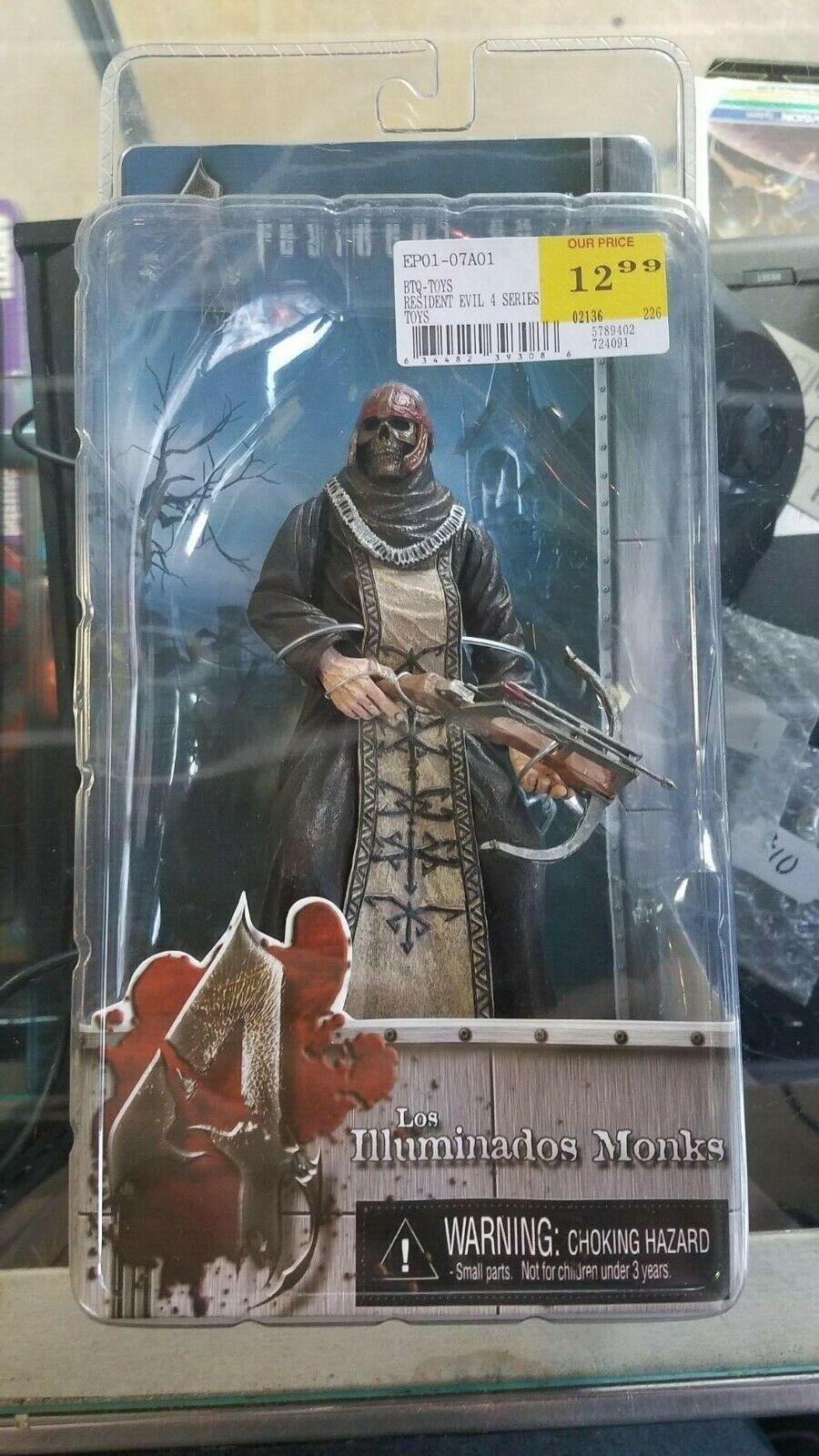 Resident Evil 4 Action Figure  Los Illuminados Monks -New, Unopened NECA (braun)
