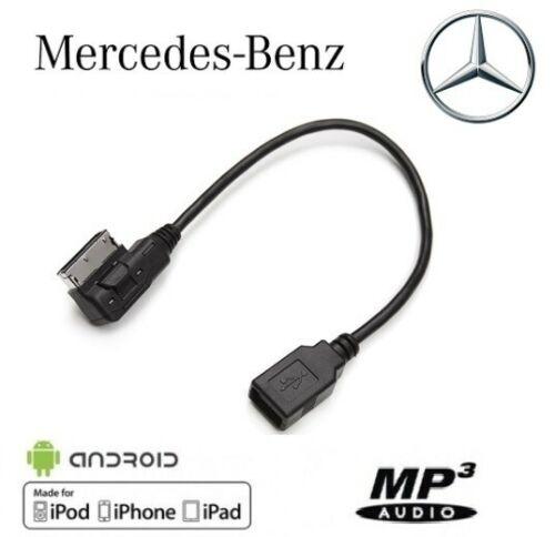 Cable USB pour autoradio MMI véhicule Mercedes Benz