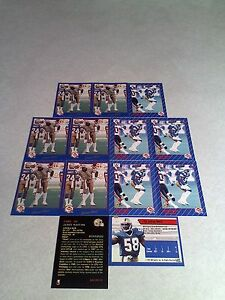 James-West-Lot-of-21-cards-3-DIFFERENT-Football-CFL
