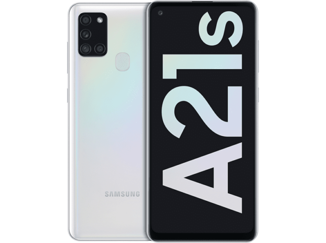 SAMSUNG Galaxy A21s 6,5 Zoll Smartphone Android 32 GB White