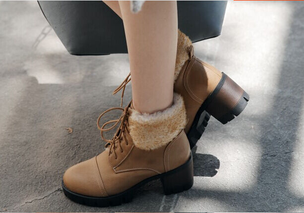 Stivaletti stivali scarpe scarpe scarpe donna tacco 6 .5 cm moda simil pelle comodi  9015 | Grande Varietà  | Uomo/Donna Scarpa  19bbe9