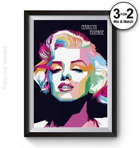 Image Is Loading Fashion Wall Art Print Marilyn Monroe Home Decor