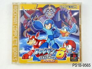 Rockman-6-Complete-Works-Playstation-1-Japanese-Import-PS1-PS-Japan-US-Seller-B
