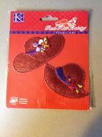 K&company Red Hat Society Fabric Art 3d Red Hat Society Shiny Hats