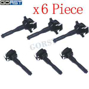 BMW E31 E52 E36 E46 E39 E38 E53 Z3 Ignition Coil Bosch Germany 6pcs 12131703228