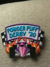 P5-D Derby Racing Car Fun Embroidered Iron On Patch