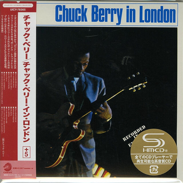 CHUCK BERRY-CHUCK BERRY IN LONDON-JAPAN MINI LP SHM-CD Ltd/Ed G00