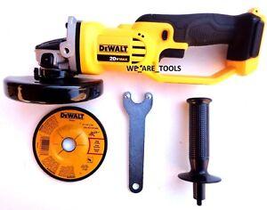New-Dewalt-DCG412-20V-Cordless-Battery-Angle-Grinder-4-1-2-034-20-Volt-MAX-Cut-Off