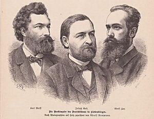 Die-Kaempfer-des-Deutschtums-in-Siebenbuergen-A-Zay-J-Gull-u-a-Stich-1883