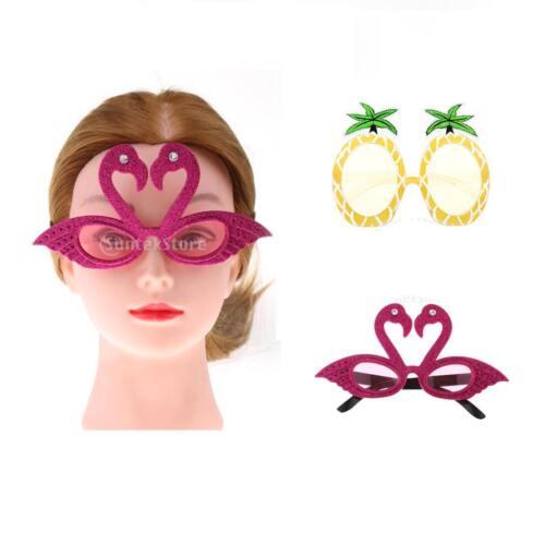 Nouveauté Hawaiian Tropical Flamingo \u0026 Ananas lunettes de soleil