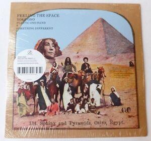 YOKO-ONO-amp-PLASTIC-ONO-BAND-Sensation-de-l-039-espace-Limited-White-Vinyl-LP