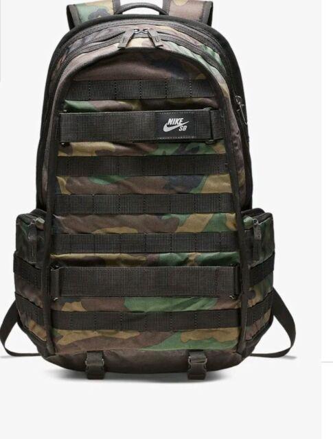 Debe Ambiente Relativo  Nike SB RPM Camo Skatebaording Backpack Ba5404 223 for sale online ...