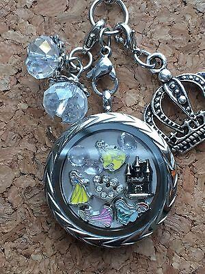 Princess Themed Inspired Locket Memory Locket, Living Locket