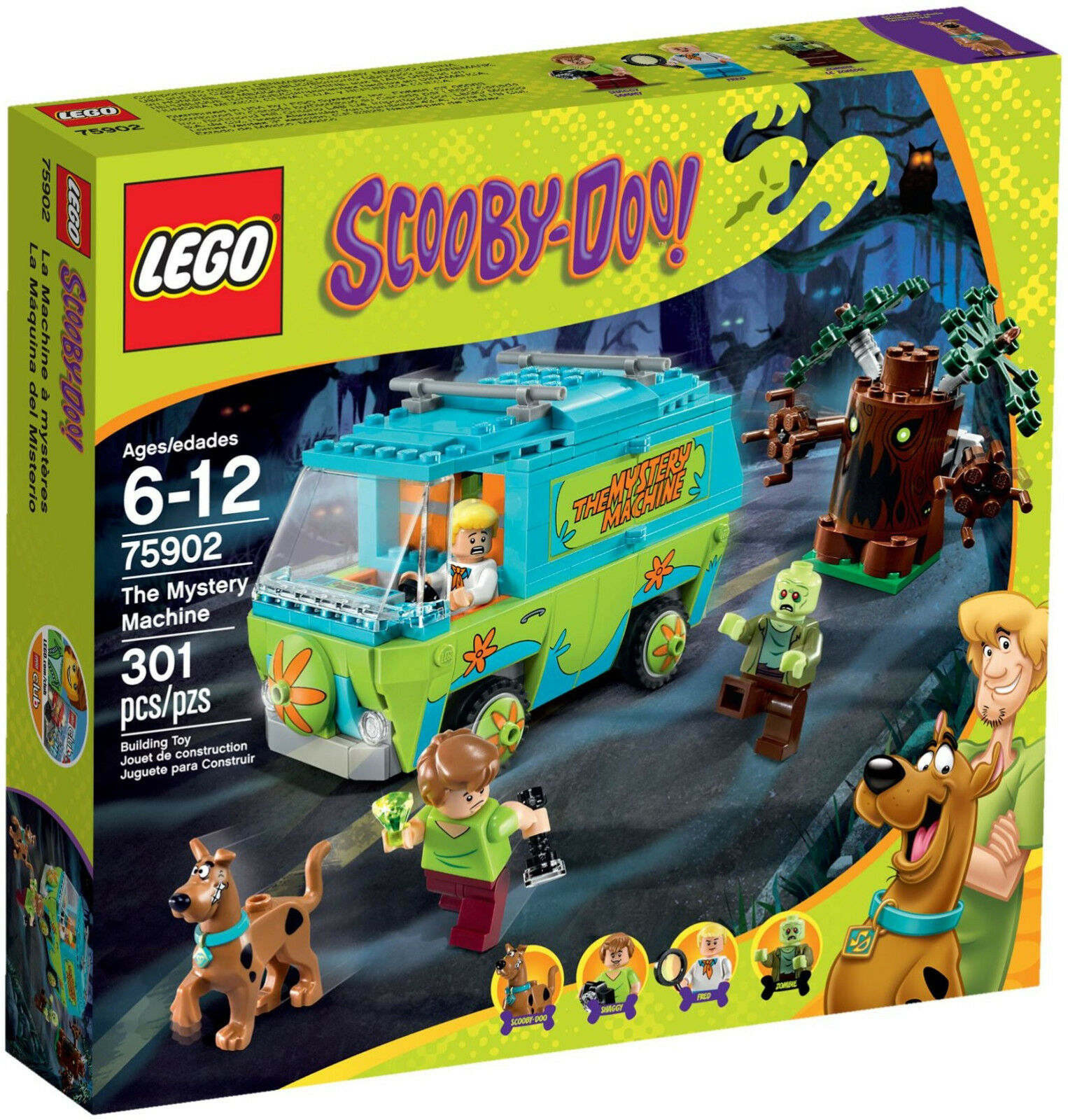 NEW NEW NEW LEGO MYSTERY MACHINE 75902 Set Sealed Box Scooby-Doo 4x minifigs 7d7bfb