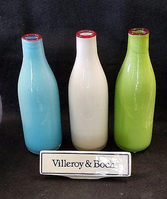 Villeroy Boch Colours Bottle Glass 10 14 Vase New Ebay