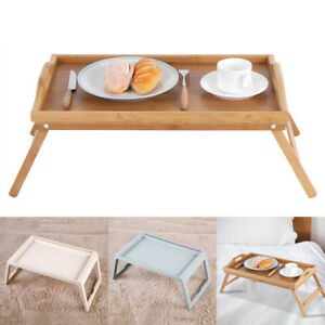 Portable Bed Tray Lap Desk Serving Table Computer Folding