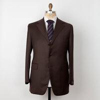 NWT SARTORIA PARTENOPEA Napoli Superfine Wool Suit 42 L (54 L) Handmade in Italy