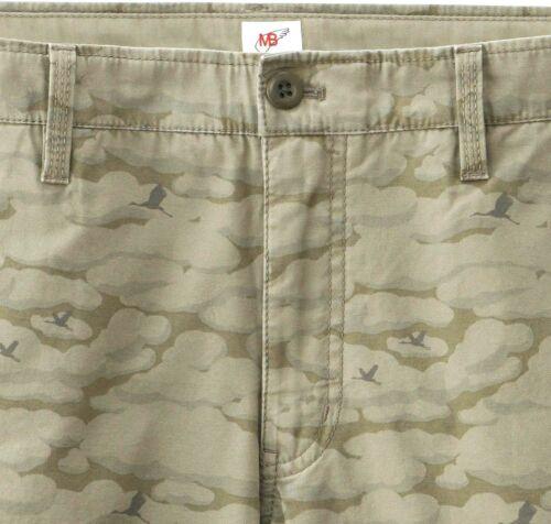 MICHAEL BASTIAN x UNIQLO /'Bird Camouflage/' Cargo Shorts Men/'s M Olive Camo *NEW*
