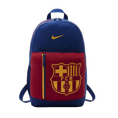 Nota ecuador Adentro  Nike FC Barcelona Stadium Backpack Rucksack Bag Junior 455 Mochila Zaino |  eBay