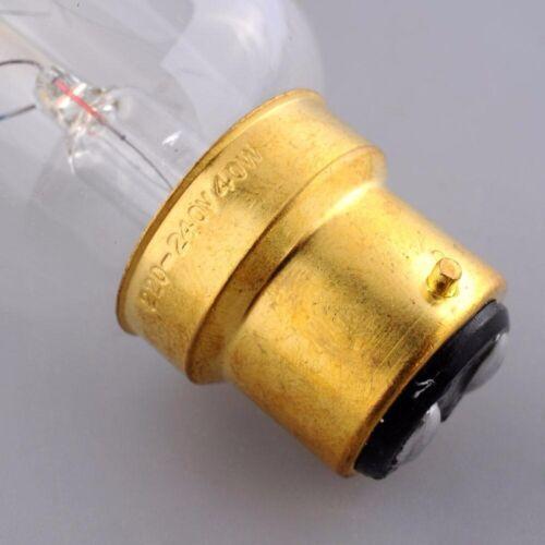 B22 BC 40//60W Vintage Antique Lamp Filament Edison Bulbs Indoor Cafe Lighting UK