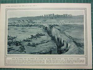 1915 Première Guerre Mondiale G.Mondiale 1 Imprimé après 'Storming' Fête Capturé D4s4OFDG-08035908-945464458
