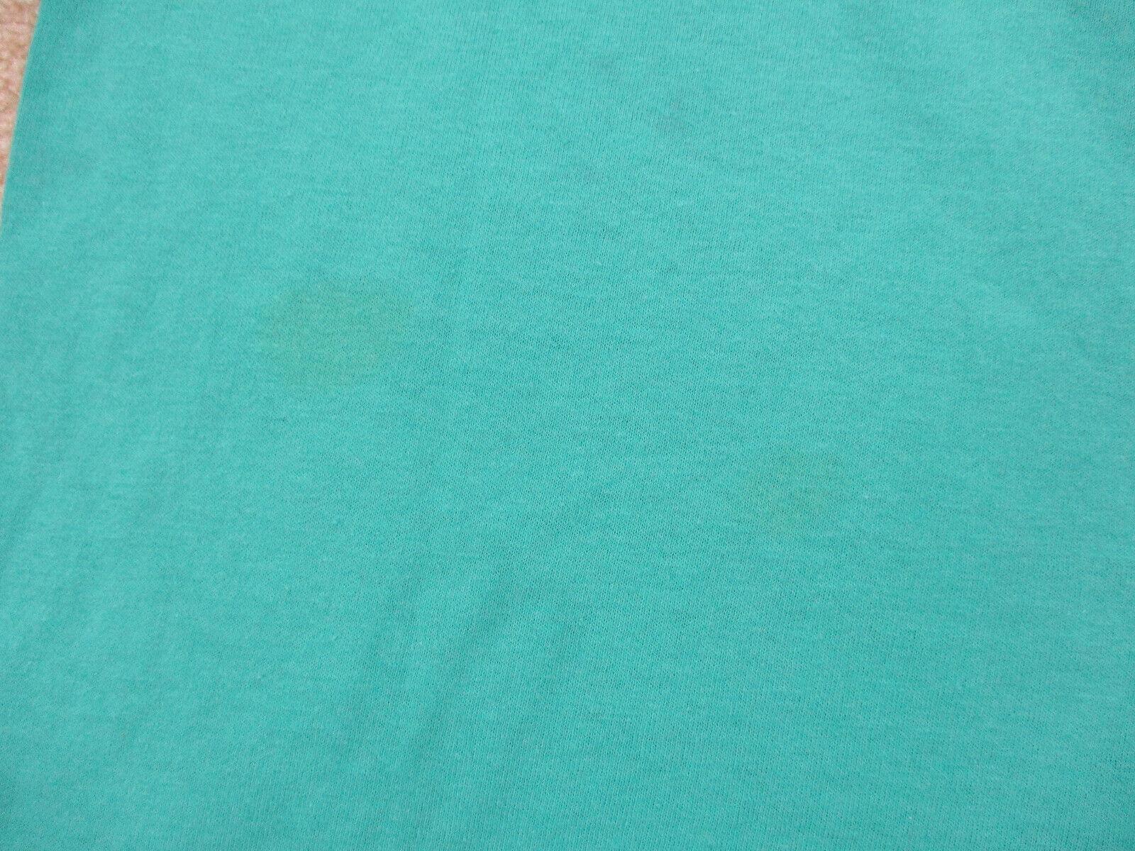 VINTAGE Converse Shirt Adult Medium Green Red Chu… - image 4