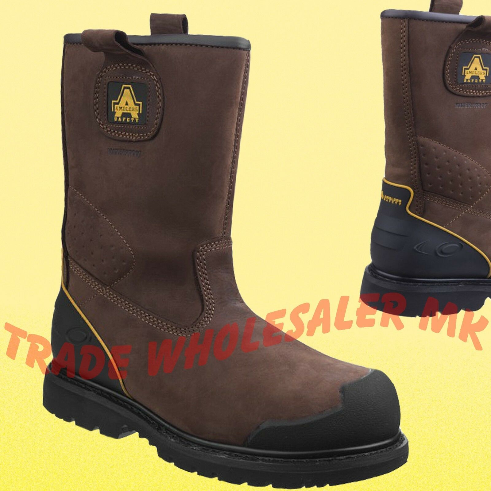 Amblers Safety Rigger Boots- New Advanced Build Year Round Rigger Boots   FS223