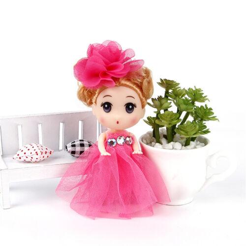 12cm Mini Ddung Doll Cute Toy Confused Doll Key Chain Phone Pendant Ornament HK