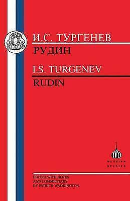 (Good)-Turgenev: Rudin (Russian Texts) (Paperback)-Ivan Turgenev-1853992968