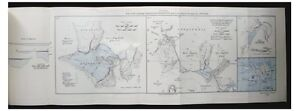 1935-Wright-HAGAVATN-GORGE-Iceland-LARGE-COLOUR-MAP-9