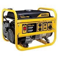 Trades Pro 1400/1600 Watt Gasoline Portable Generator (Yellow)