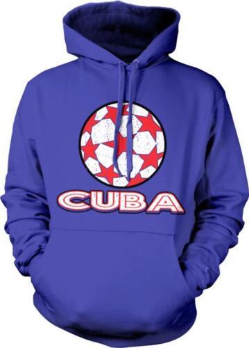 Cuba Soccer Ball Pride Orgullo Cubano Fútbol Football Hoodie Pullover