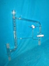 Reliance Glass Jacketed Vigreux Distillation Head With 1030 And 2440
