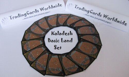 Kaladesh Complete Basic Land Set //// 15 15 //// NM //// engl.