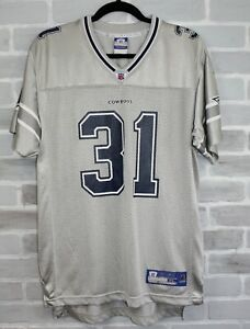 new style 8f1d9 dd36c Details about NFL Dallas Cowboys Roy Williams #31 Gray Jersey Reebok Youth  Boys XL
