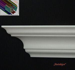 Stuckleisten-Stuck-Zierprofil-30-Meter-Dekorleisten-9cmx9cm-Dekor-034-Steinkjer-034
