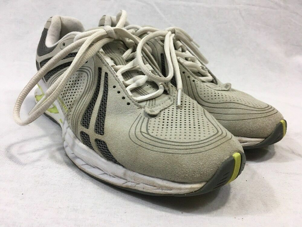 New Balance Sneaker Shoe WW1100 Women 7.5B Walking Toning Toning Toning Lightweight Gray Green 4774ad