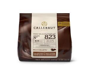 Callebaut Callets 823 feinste belgische Schokolade Kuvertüre 400 g