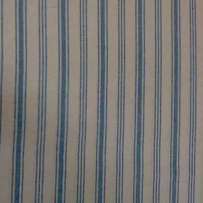 "Princeton French Linen Multi Stripe Grey 280cm//108/"" Wide Curtain Fabric"