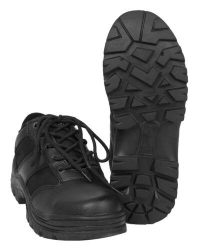 Mil-tec security basses Noir Cuir Chaussures en cuir Chaussures 39-47