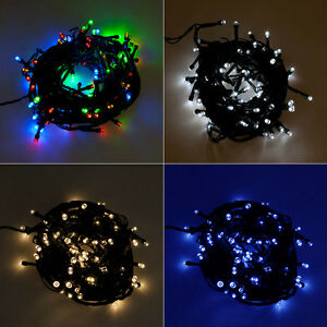 Outdoor String Lights On Timer : LED 8 Function 32ft Waterproof Battery Outdoor Party Lights String Fairy Timer eBay
