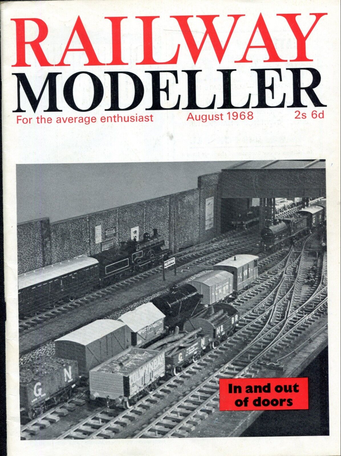 Railway Modeller Magazine  June 1968  In and Out of Doors
