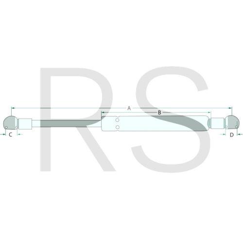 65402063 Stabilus Gasdruckfeder ersetzt Case IH 3234163R1 für 743 745 844 856