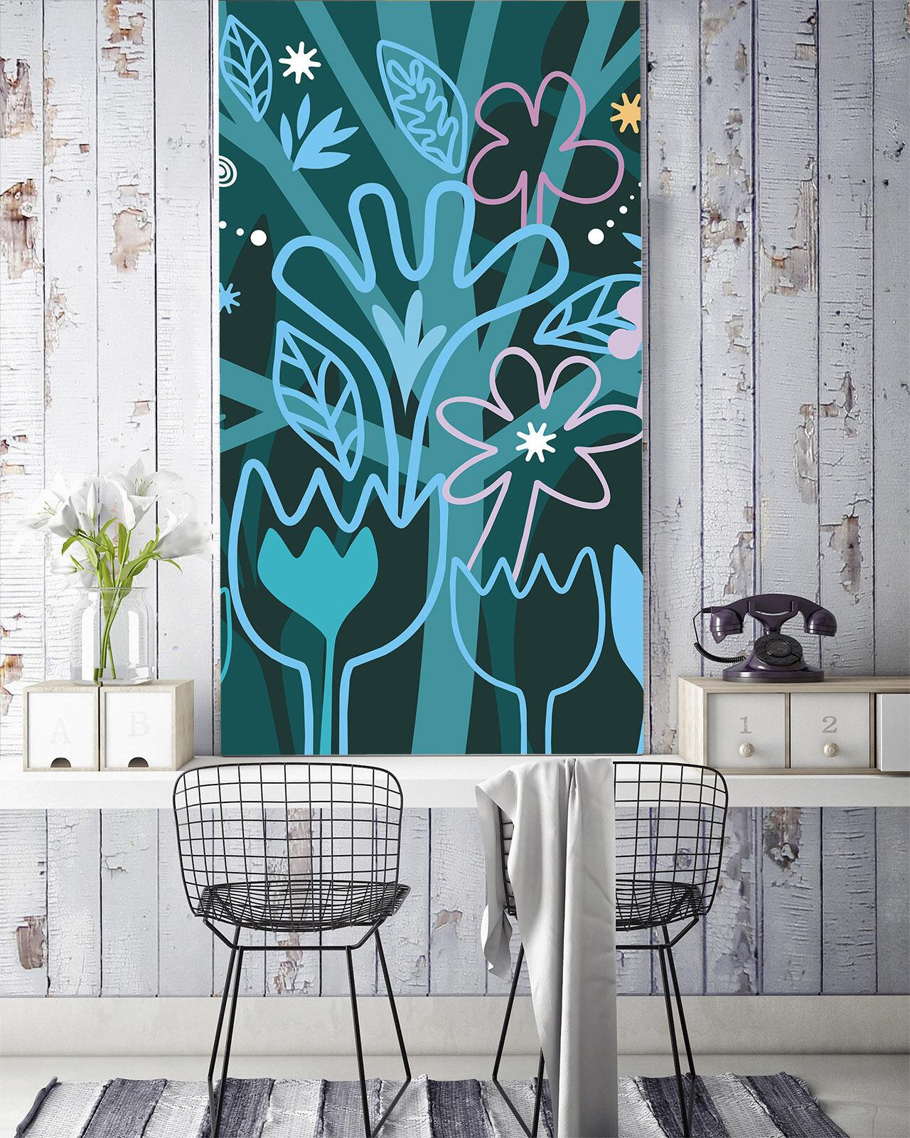 3D Arbres Fleur Fleur Fleur 9 Photo Papier Peint en Autocollant Murale Plafond Chambre Art a5c51a