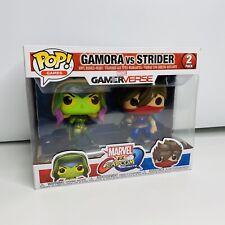 Figurine Marvel Vs Capcom Bi-Pack Gamora Vs Strider Pop 10cm