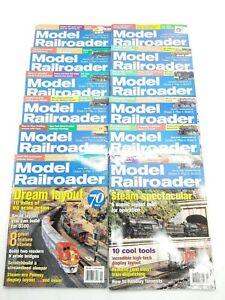 Model-Railroader-Magazine-2004-Full-Year-Lot-of-12